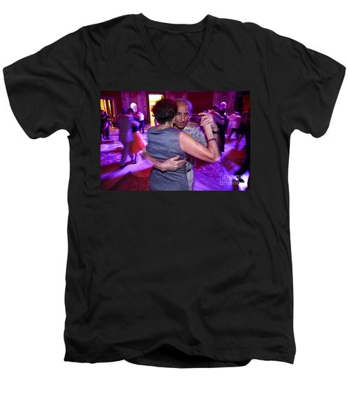 Tango In Buenos Aires Men's V-Neck T-Shirt