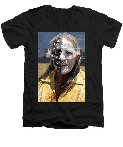 Taos Elder Men's V-Neck T-Shirt