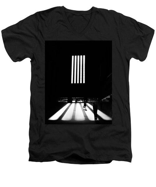 Tate Modern Men's V-Neck T-Shirt by Art Shimamura