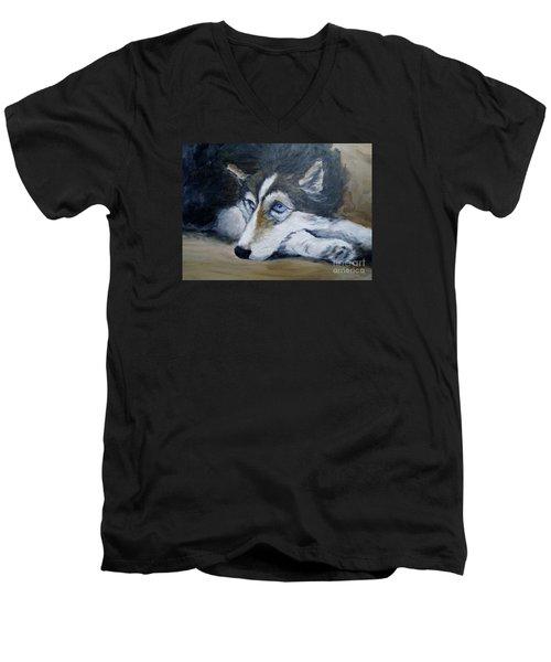 Tazmania Men's V-Neck T-Shirt