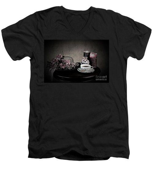 Tea Time 2nd Rendition Men's V-Neck T-Shirt
