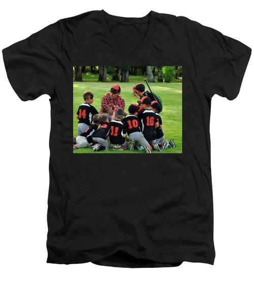 Team Meeting 9736 Men's V-Neck T-Shirt