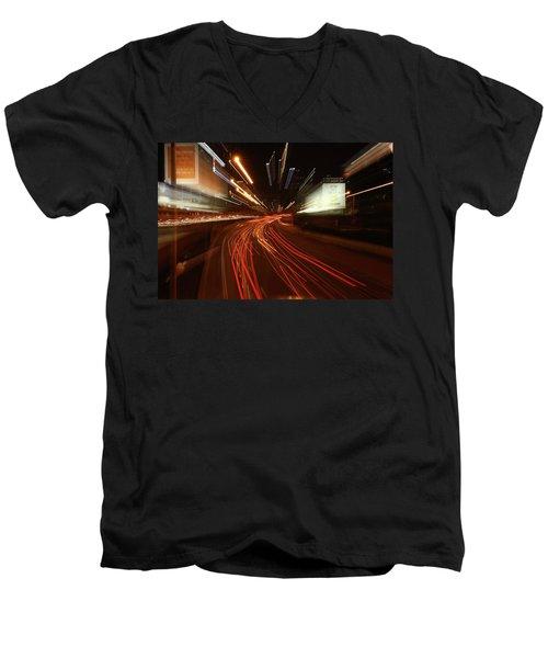 Tel Aviv Doom Men's V-Neck T-Shirt