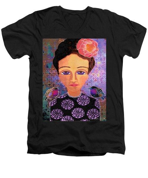Telling Secrets Men's V-Neck T-Shirt