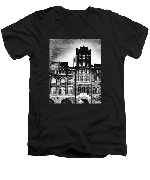 Men's V-Neck T-Shirt featuring the photograph Tennessee Brewery by Lizi Beard-Ward
