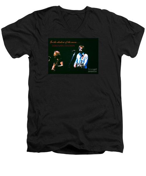 Terrapin Station - Grateful Dead Men's V-Neck T-Shirt by Susan Carella