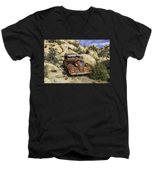 Terraplane Hudson  Men's V-Neck T-Shirt