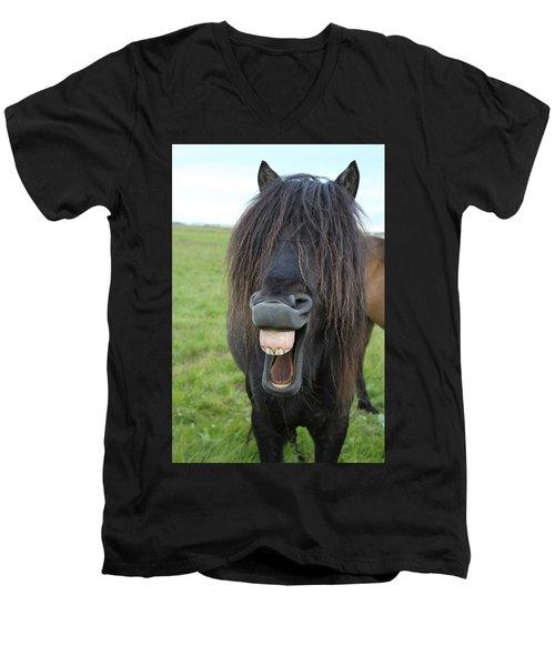 That Feels So Good Men's V-Neck T-Shirt