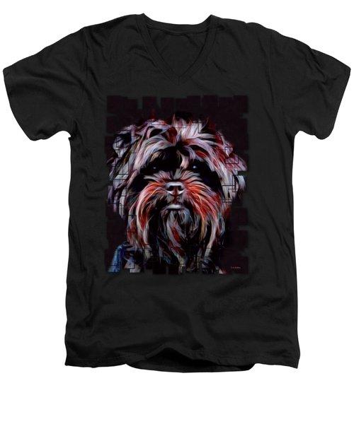 The Affenpinscher Men's V-Neck T-Shirt
