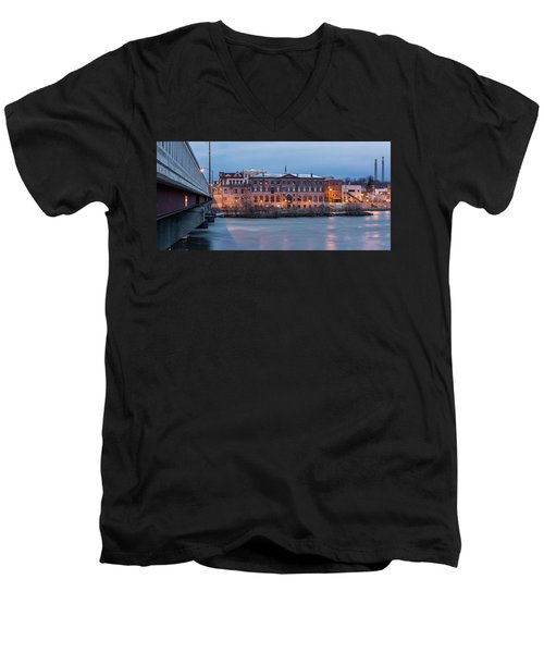 Men's V-Neck T-Shirt featuring the photograph The Allure Of Old by Everet Regal