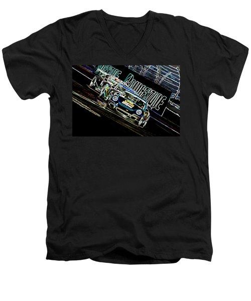 The Apex Men's V-Neck T-Shirt