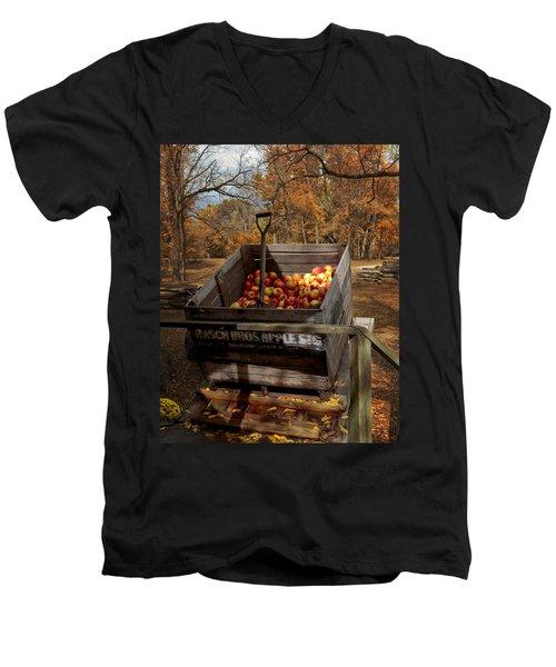 The Apple Bin Men's V-Neck T-Shirt