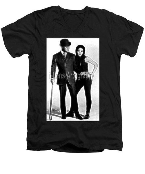 The Avenger #2 Men's V-Neck T-Shirt