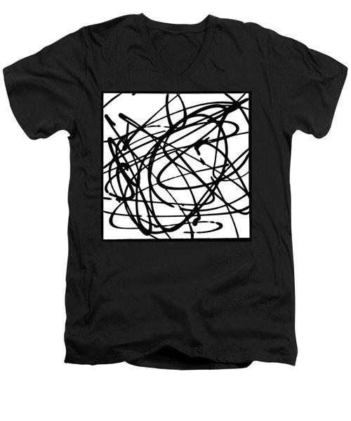 The B-boy As Men's V-Neck T-Shirt