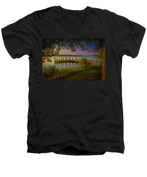 The Beautiful Patuxent Men's V-Neck T-Shirt