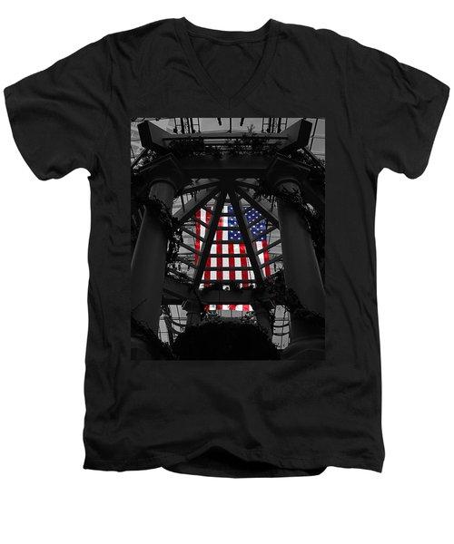 The Beautiful Men's V-Neck T-Shirt