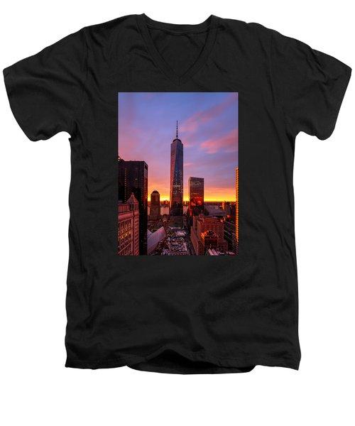 The Beauty Of God Men's V-Neck T-Shirt