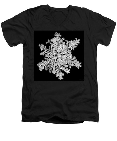 The Beauty Of Winter Men's V-Neck T-Shirt by Lauren Radke