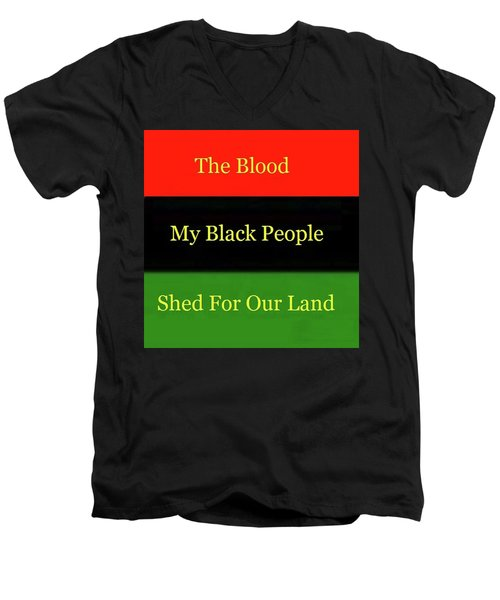 The Blood Men's V-Neck T-Shirt
