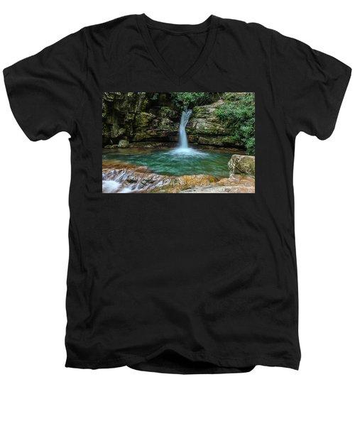 The Blue Hole Men's V-Neck T-Shirt