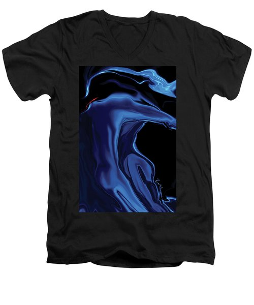 The Blue Kiss Men's V-Neck T-Shirt