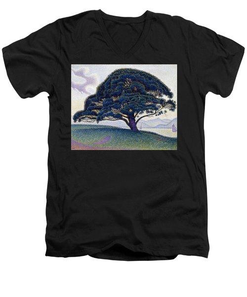 The Bonaventure Pine  Men's V-Neck T-Shirt