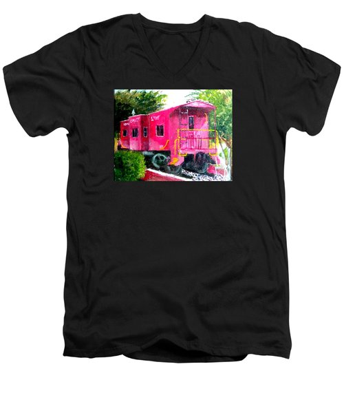 The Caboose Men's V-Neck T-Shirt
