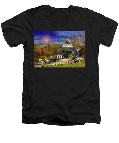 The Campton Farm Men's V-Neck T-Shirt
