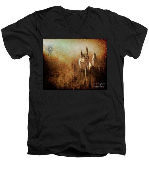 The Castle Men's V-Neck T-Shirt