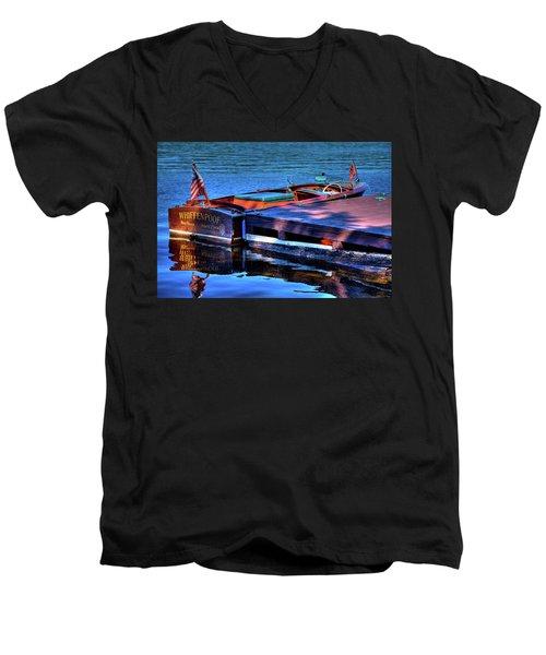 The Vintage 1958 Chris Craft Men's V-Neck T-Shirt