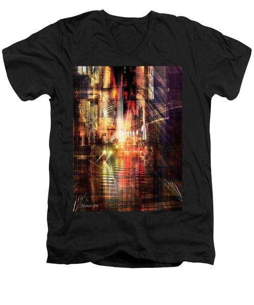 The City Rhythm II Men's V-Neck T-Shirt