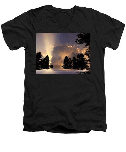 The Cloud Men's V-Neck T-Shirt