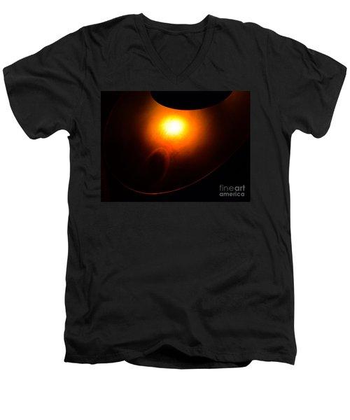 The Compulsion Of Gravity Men's V-Neck T-Shirt