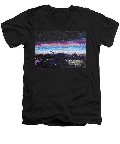 The Crack Of Time Men's V-Neck T-Shirt