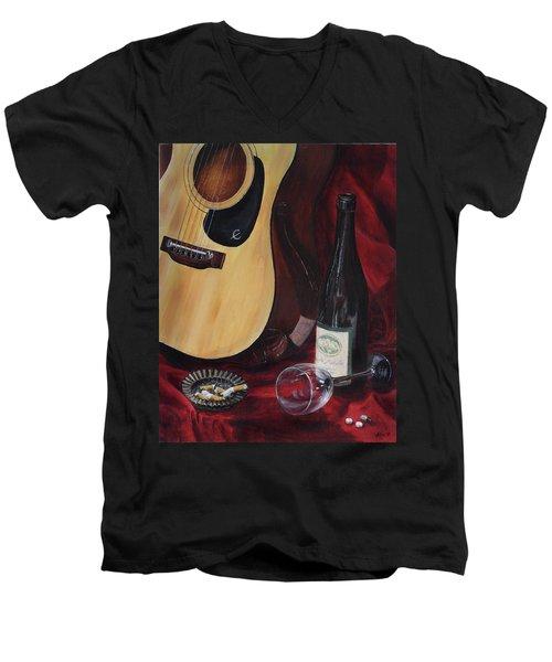 The Dark Times Men's V-Neck T-Shirt