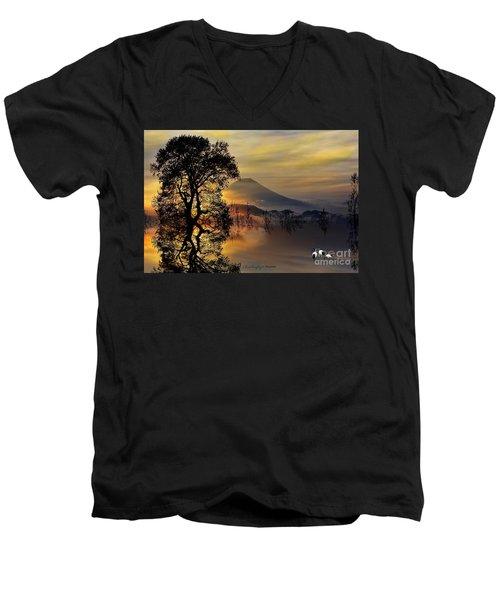 The Days Blank Slate Men's V-Neck T-Shirt