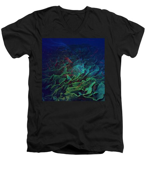 The Deep Men's V-Neck T-Shirt