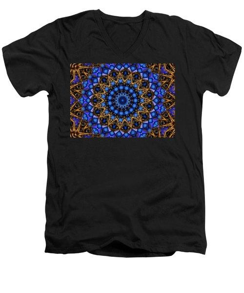The Deep Men's V-Neck T-Shirt by Robert Orinski