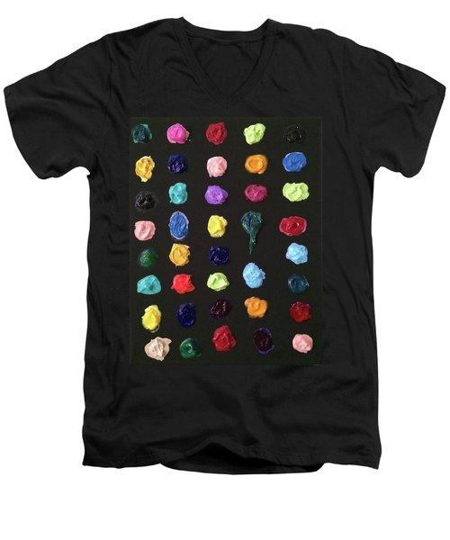 The Destruction Of Earth Men's V-Neck T-Shirt