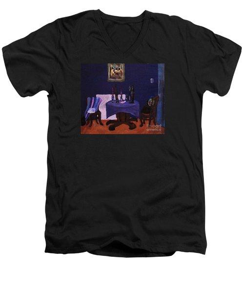 The Dining Room Men's V-Neck T-Shirt
