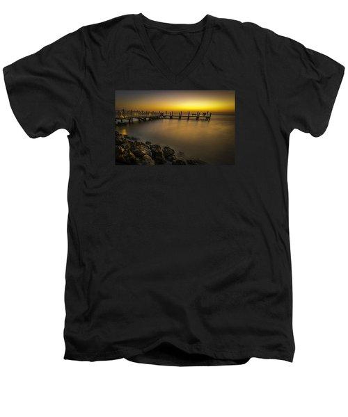 Captiva Sunrise Men's V-Neck T-Shirt