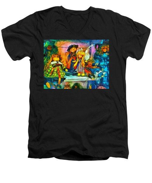 The Dolls Men's V-Neck T-Shirt