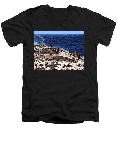The Dragons Teeth II Men's V-Neck T-Shirt