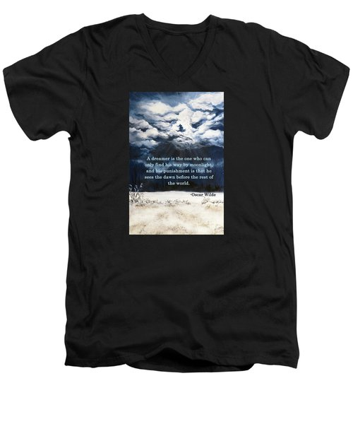 The Dreamer Men's V-Neck T-Shirt