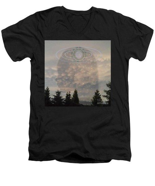 The Earth Belongs To Our Children Men's V-Neck T-Shirt