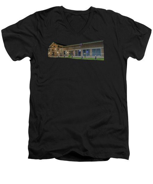The Egan Center Men's V-Neck T-Shirt by Brian MacLean