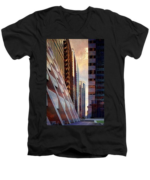 The Elevated Acre Men's V-Neck T-Shirt