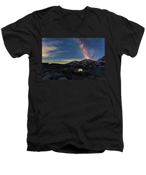 Mountain Trekking Men's V-Neck T-Shirt