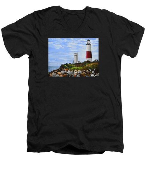 The End Men's V-Neck T-Shirt