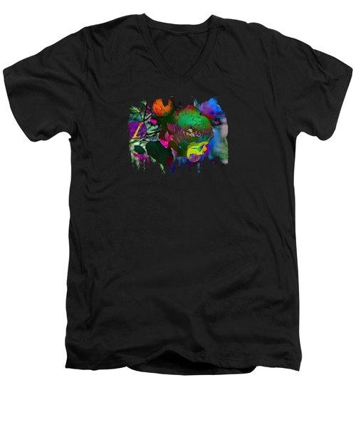 Couleur Men's V-Neck T-Shirt